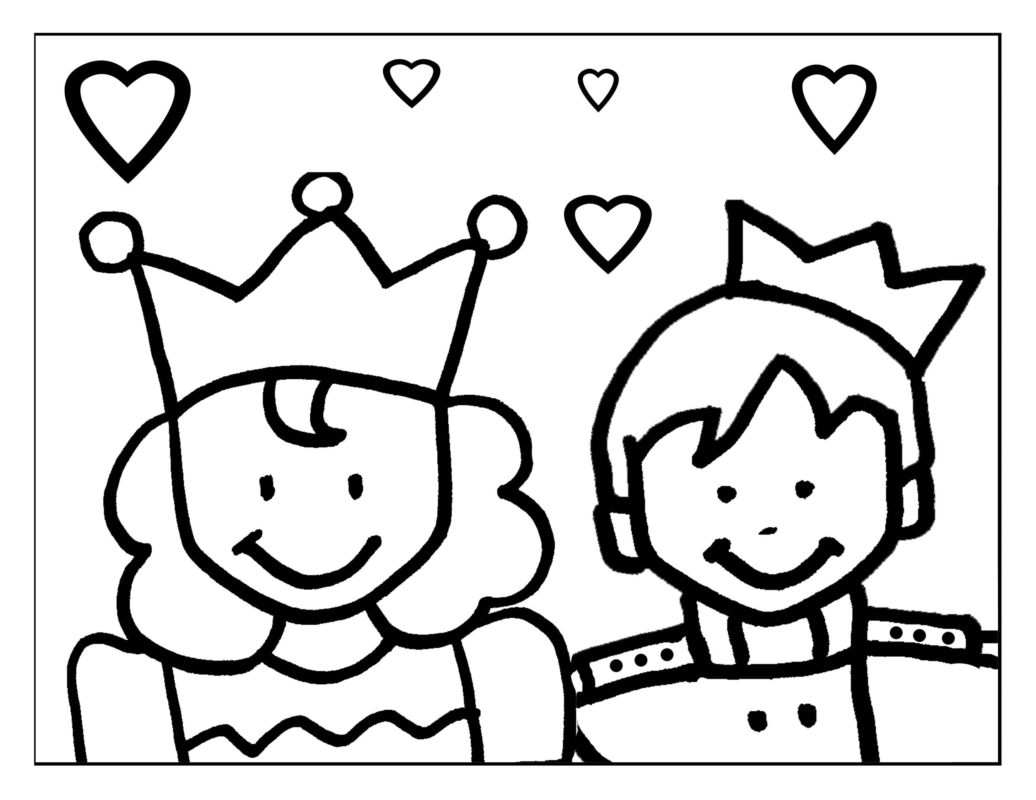 """Dibujos De Principes Y Princesas Para Colorear: """"El Príncipe Archimboldo"""" (cuento Maravilloso)"""
